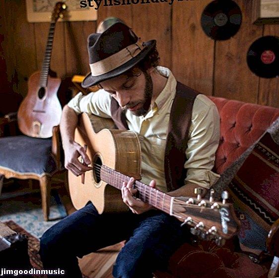 Adam Dobres: guitarrista canadiense perfilado