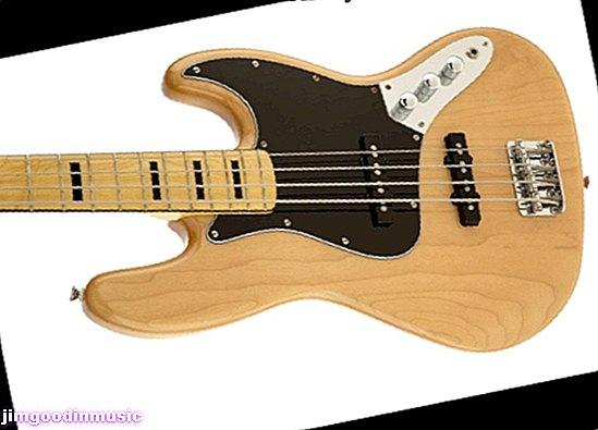 Ulasan 70-an Squier Vintage Modified Jazz Bass