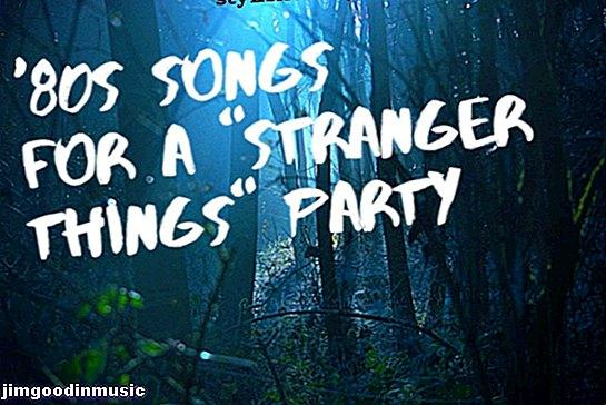 """30 най-добри песни от 80-те за тематично парти или сватба """"По-странни неща"""""""