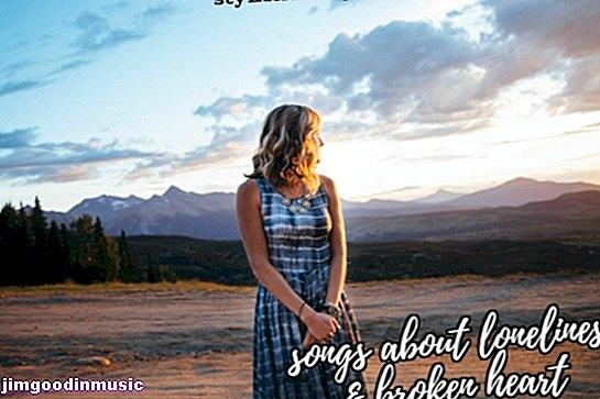 75 Тъжни песни за самотата и разбиването